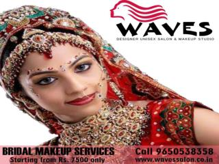 Get stunning bridal makeup look on your big day. Best wedding packages are starting from Rs.7500 only.