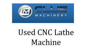 used cnc lathes for sale | Used CNC Lathe