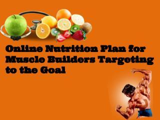 Online exercise plan| Online nutrition plan