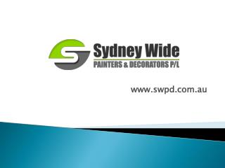 House Painters North Shore | Sydney Wide Painters