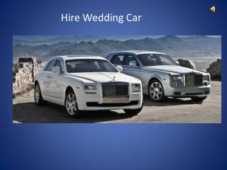 Hire Wedding Car