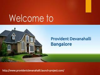 Provident Devanahalli luxury Apartment Project in Bangalore