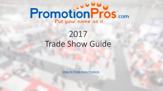 Trade Show Guide 2017
