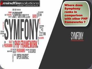Where does Symphony ranks in comparisionn with other PHP frameworks