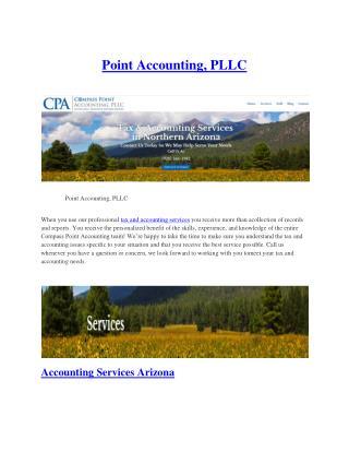 Accounting Services Arizona