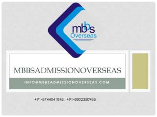 MBBS from Russia | MBBSAdmissionOverseas