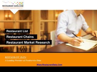 Restaurant Directory USA - Restaurant Data