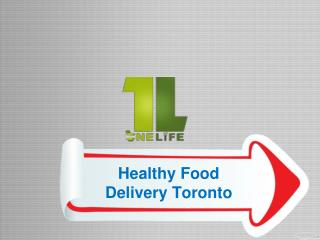 Healthy Food Delivery Toronto