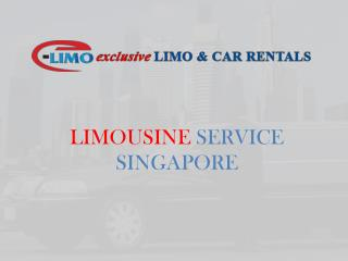 Limousine Service Singapore | Exclusive Limo