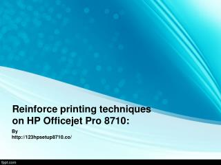 123 HP Setup 8710