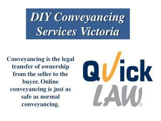 DIY Conveyancing Services Victoria
