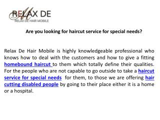 Don't waste your call to relax de hair mobile