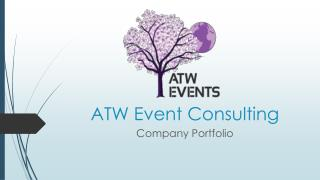 Event Planner in Toronto | ATW Event Consulting