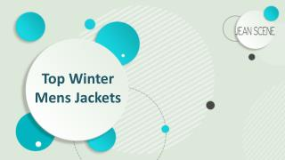 Top Winter mens jackets