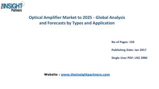 Optical Amplifier Market to 2025-Industry Analysis, Applications, Opportunities and Trends |The Insight Partners