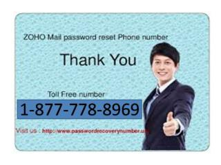 ##((((1-877-778-8969))))## ZohoMail  Tech Sopport Number