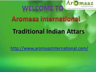 Beneficial Traditional Indian Attars – You Must Know!