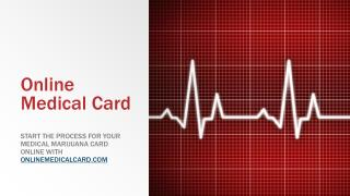 Online Medical Marijuana Card