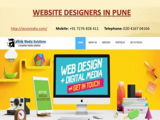 Website Designers and Developers company in Pune