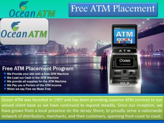 Atm Machine Service Available at Ocean ATM