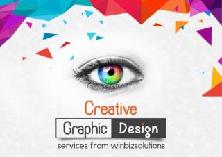 Visually stunning graphic designing services from WinBizSolutions