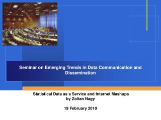 Seminar on Emerging Trends in Data Communication and Dissemination