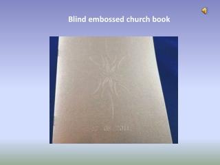 Blind Embossing