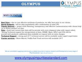 Acyclovir Impurities Manufacturer | Olympus Impurities Suppliers