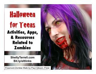 Halloween Activities, Resources & Apps for Teens