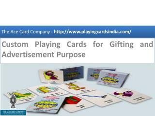 Are you searching for best custom playing cards