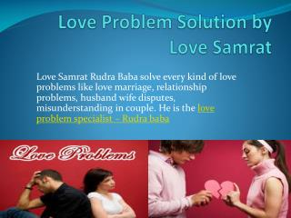 Love Problem Solution by Love Samrat