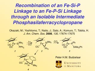 Recombination of an Fe-Si-P Linkage to an Fe-P-Si Linkage through an Isolable Intermediate Phosphasilaferracyclopropane