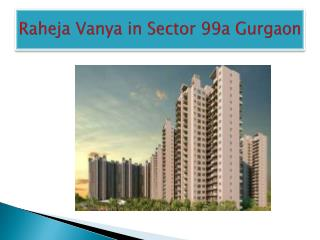 Raheja Vanya Price List