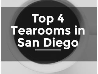 Top 4 Tearooms in San Diego