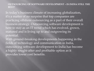 Software Development India