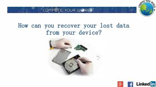 Server Data Recovery Services Adelaide