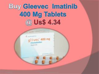 Buy Imatinib 400 Mg Tablets @ Us$ 4.34