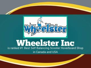 Canada Wheelster Hoverboard