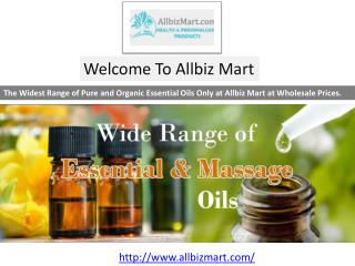 Pure and Natural Essential Oils Wholesale, Suppliers