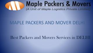 Packers and Movers - Maple Packers & Movers