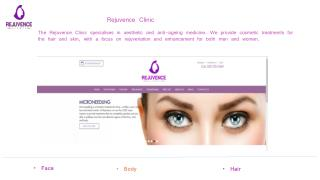 Rejuvence Clinic - Anti Ageing Clinic in London | Luton