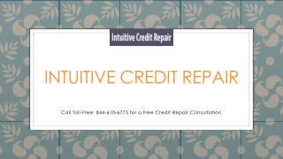 Intuitive Credit Repair