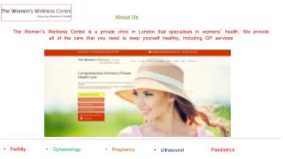 Private Gynaecology and Women's Health Care Clinic London, Midwifery Service