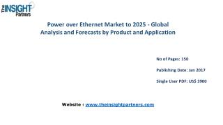 Power over Ethernet Market Global Analysis & 2025 Forecast Report |The Insight Partners