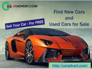 Sell or Purchase New or Used Cars in UK at Caradvert.com