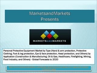 Personal Protective Equipment Market worth 52.4 Billion USD by 2020 The