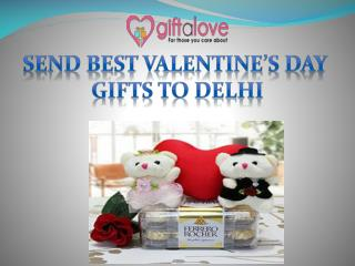 Send Best Valentine's day Gifts to Delhi