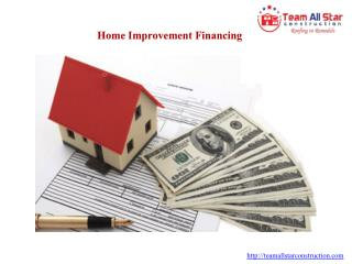 Home Improvement Financing Azusa